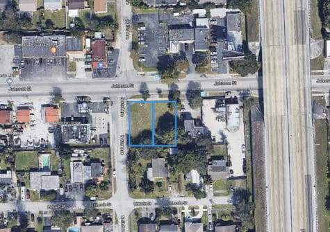 Two Commercial Lots Located in West Hollywood Florida!