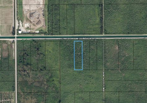 Unimproved Land for Sale South East Part of Homestead FL