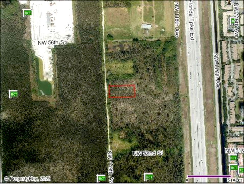 Undeveloped Raw Land in Doral, Florida