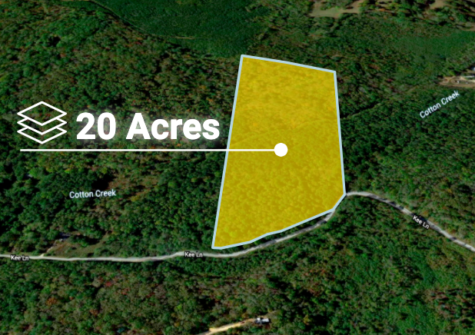 Cheap 20 Acre Land in Camden, Tennessee